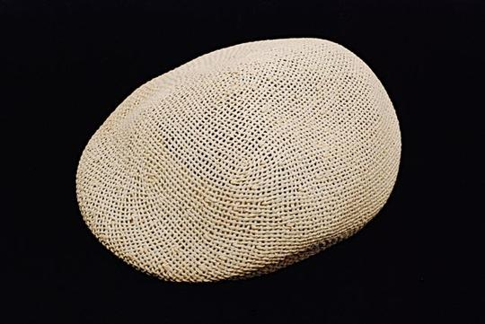LATITUDE SUD LATITUDE SUD Off-White 100% Straw Hat