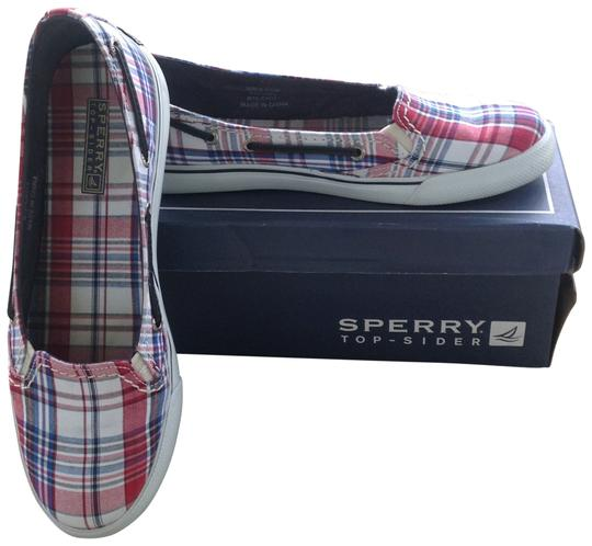 Preload https://img-static.tradesy.com/item/128831/sperry-navy-and-red-plaid-inagua-9171182-flats-size-us-85-0-0-540-540.jpg