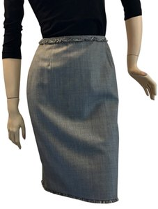 Escada Skirt Grey