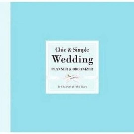 Blue Chic & Simple Wedding Planner & Organizer