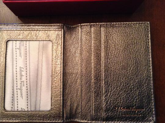 Salvatore Ferragamo New With Tags Dust And Box Included Silver Clutch