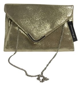 Walter Baker Gold Clutch