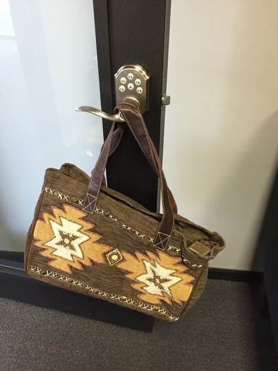 Mare Sole Amore Tote in Brown