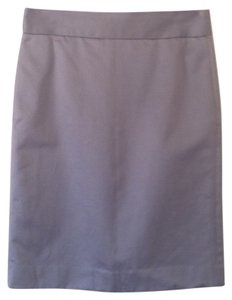 J.Crew Skirt Grey Sateen