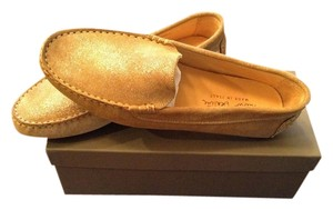 Paolo Bentini New With Dust Bag And Box Tan Flats