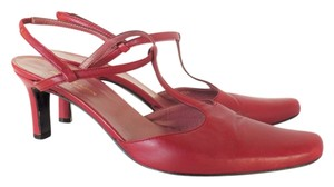 Dries van Noten Mary Jane Leather Vintage Red Pumps