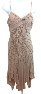 Sue Wong Embellished Floral Silk Dress