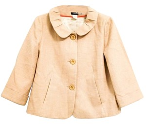 J.Crew Shiny Holiday Textured Linen Cotton Jacket