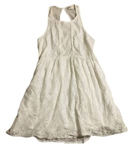 Abercrombie & Fitch short dress White lace on Tradesy