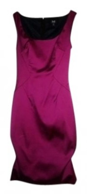 Preload https://item5.tradesy.com/images/dolce-and-gabbana-fuschia-d-and-g-sd1636-satin-scoop-neck-fitted-40-knee-length-cocktail-dress-size--128864-0-0.jpg?width=400&height=650
