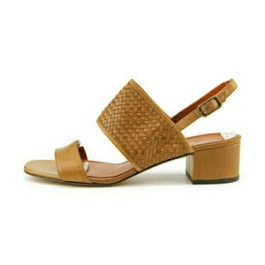 Via Spiga Leather Brown Sandals
