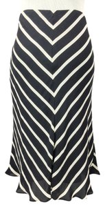 Lauren Ralph Lauren Skirt striped silk