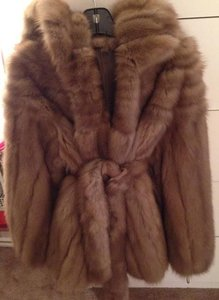 Sable Fur Russian Hood Fur Coat