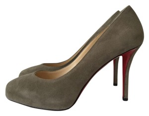 Christian Louboutin So Kate Decollete Iriza Grey Pumps