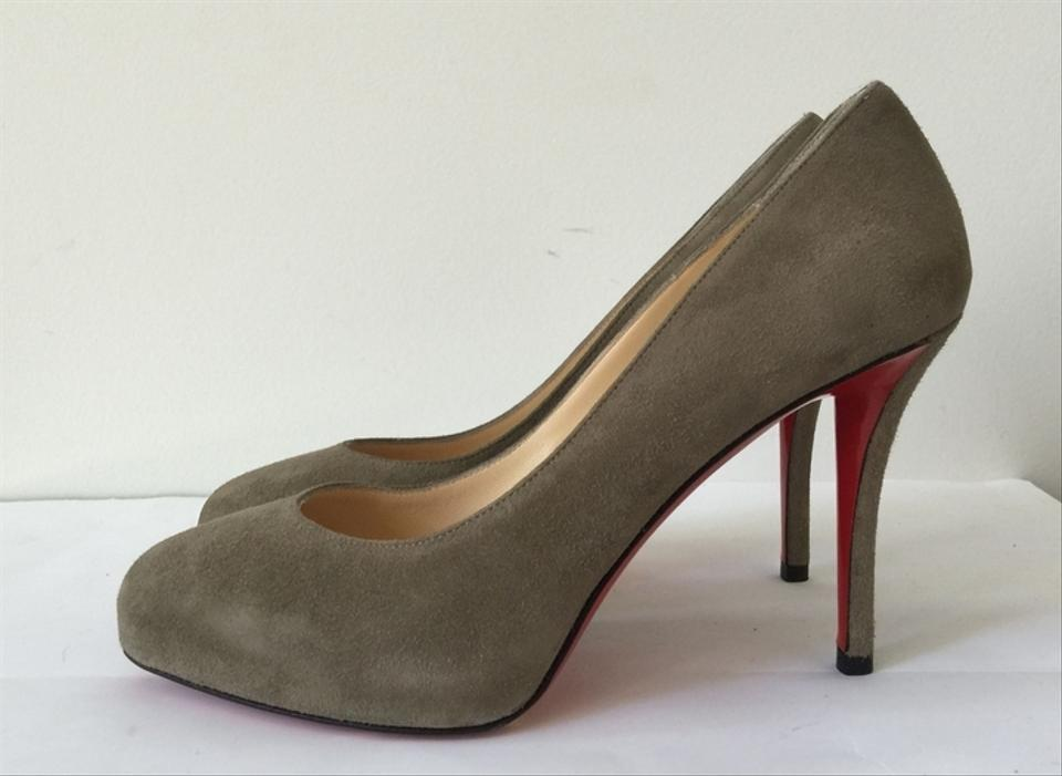christian louboutin patent leather decollete 100 pumps w tags