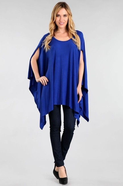 Other Super Size Top Blue Image 6