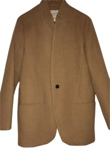 Zara Wool Spring Fall Beige Camel Jacket