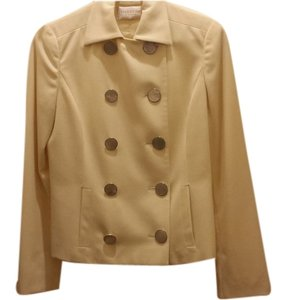 Valentino cream with mother of pearl buttons Blazer