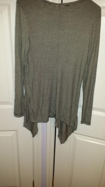 A Pea In The Pod Striped Flowy Long Sleeve Top