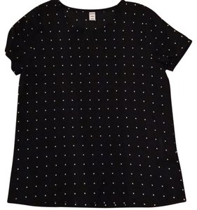 Old Navy Top Black, white