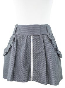 bebe Mini Skirt pinstripe