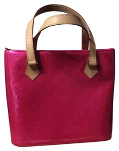 Louis Vuitton Vernis Pink Patent Shoulder Bag