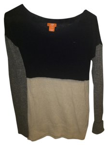Joe Fresh Gray Cream Sweater