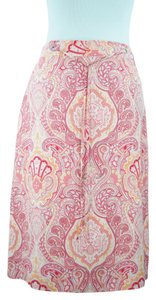 Banana Republic Skirt silk print