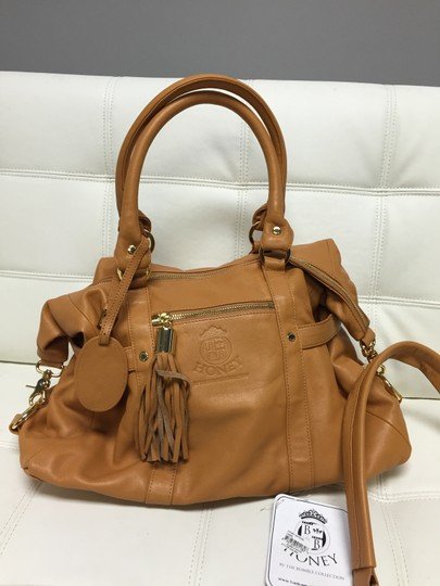 The Bumble Collection Satchel in Camel