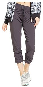 Ideology Ideology Women's Cropped Drawstring Pants Deep Charcoal M