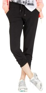 Ideology Ideology Women's Cropped Drawstring Pants Black M