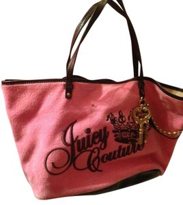 Juicy Couture New Embroidered Tote in PInk