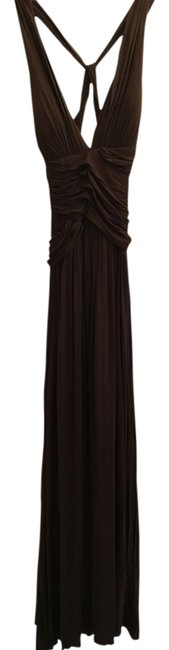 Preload https://img-static.tradesy.com/item/12889027/brown-cotton-blend-long-formal-dress-size-6-s-0-1-650-650.jpg
