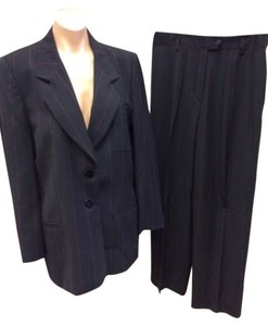 Escada Escada By Margaretha Ley Womens Pinstripe Pants Suit Size 40