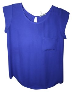 Joie Rancher Silk Top Blue