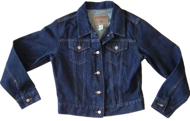 London Jean Cotton blue Womens Jean Jacket