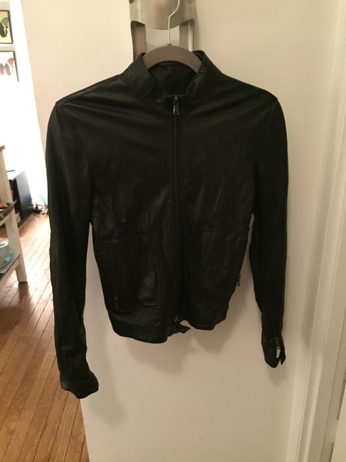 Viola Vita Leather Italian Leather Leather Jacket