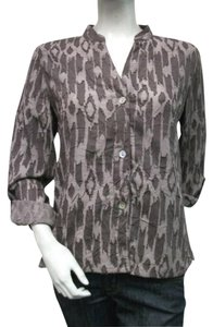 Ruby Rd. Rd Brown Textured Top Taupe