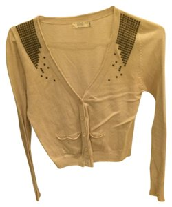 Millau Studs Buttons Pockets Sweater