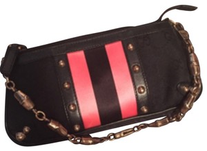 Gucci Wristlet Pouchette Studded Tom Ford black/pink/rose gold Clutch