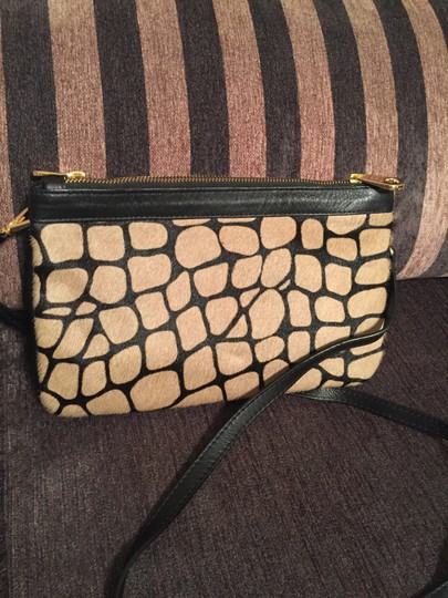 Alberta Di Canio Leather Hide Cross Body Bag Image 5