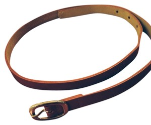 Promod Red Patent Leather Belt