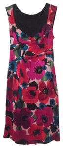 Nanette Lepore Floral Silk Sleeveless Dress