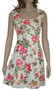 Modcloth short dress floral on Tradesy