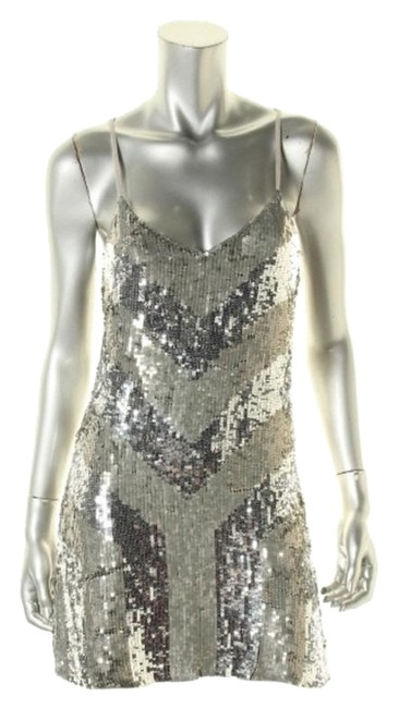 Preload https://img-static.tradesy.com/item/12890809/parker-silver-sexy-above-knee-cocktail-dress-size-2-xs-0-1-650-650.jpg