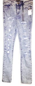 Rue 21 Skinny Jeans-Distressed