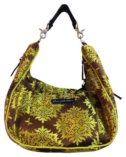 Petunia Pickle Bottom Lemongrass (green) Diaper Bag
