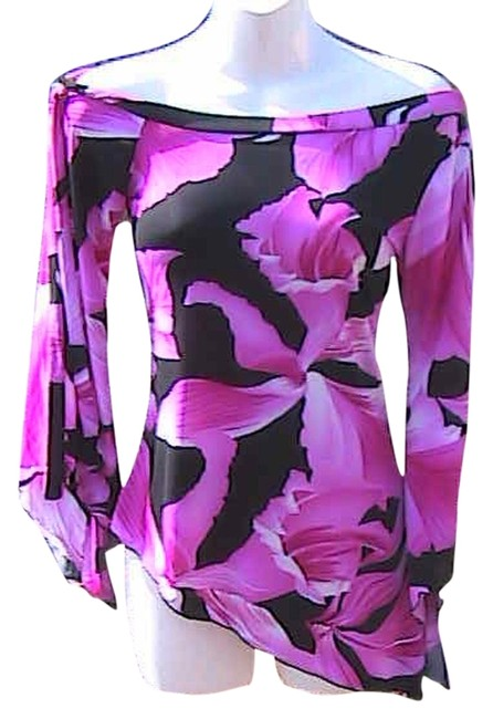 Preload https://img-static.tradesy.com/item/12891010/tempted-pink-floral-asymmetrical-blouse-size-8-m-0-1-650-650.jpg