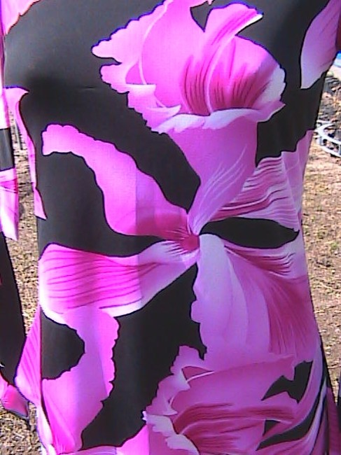 Tempted Top Pink Floral Image 3