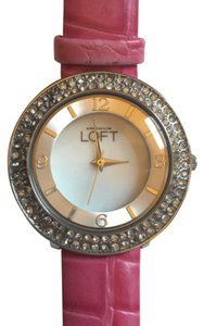 Ann Taylor LOFT Leather Watch